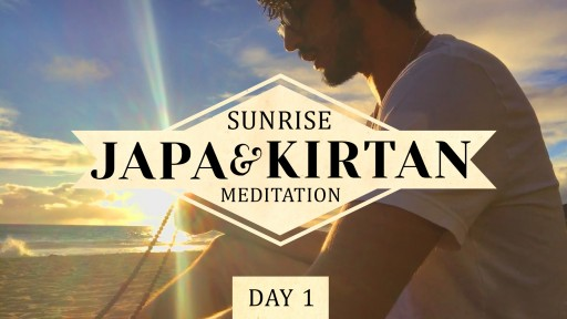 Science of Identity Foundation Releases Sunrise Japa and Kirtan Meditation Video Series